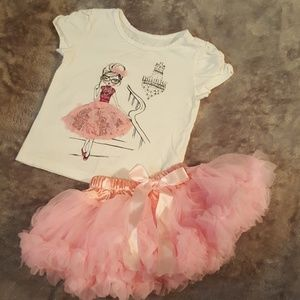 Toddler Top and Tulle Skirt